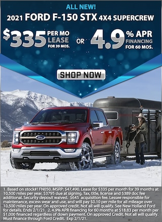 4.9% APR for 60 Months or Lease for $335 per month for 39 months!