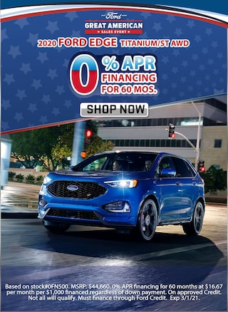 0% APR for 60 Months!