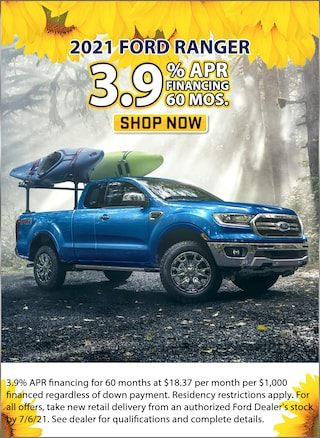 3.9% APR for 60 Months
