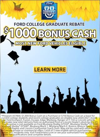 $1000 Bonus Cash!