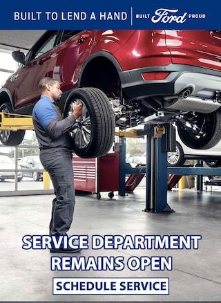Service is Still Open!