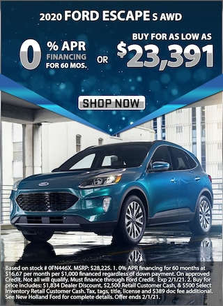 0% APR for 60 Months or Buy for as low as $23,391!