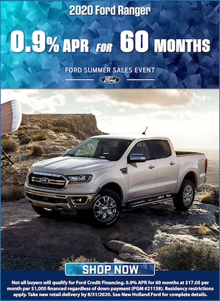 0.9% APR for 60 Months!