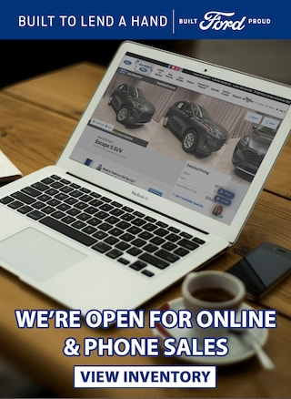 We're open for online sales!