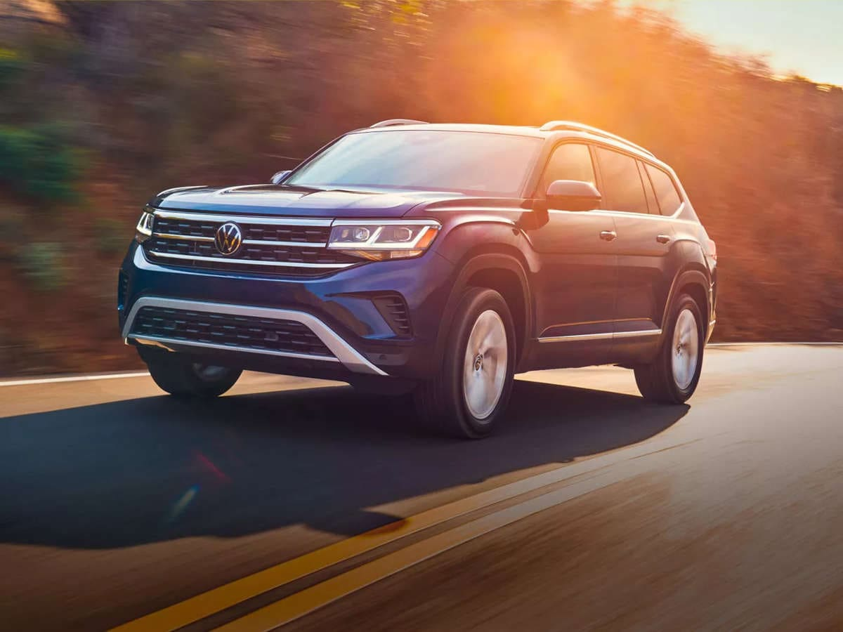 2021 Volkswagen Atlas - Power when you need it. Or just when you want it.