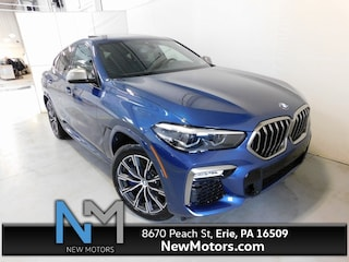New 2021 BMW X6 M50i Sports Activity Coupe in Erie, PA
