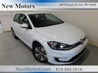 New 2019 Volkswagen e-Golf SE Hatchback WVWKR7AUXKW902731 in Erie, PA