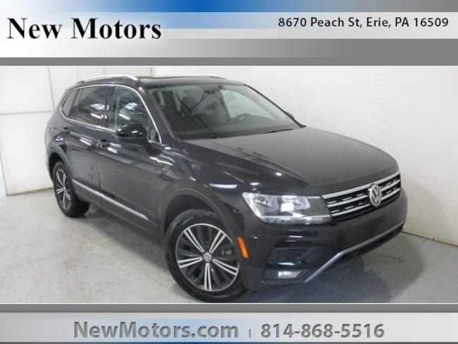 New 2019 Volkswagen Tiguan 2.0T SEL 4MOTION SUV For Sale/Lease Erie, PA