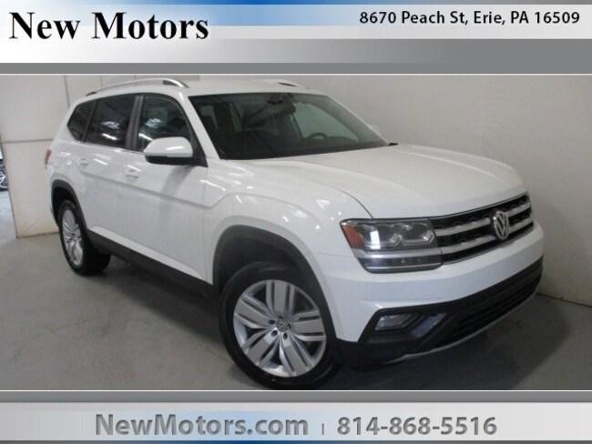 New 2019 Volkswagen Atlas 3.6L V6 SE w/Technology 4MOTION SUV For Sale/Lease Erie, PA