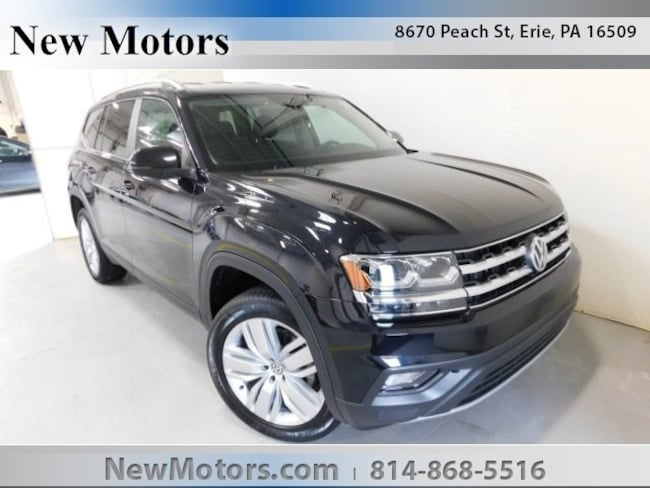 New 2019 Volkswagen Atlas 3.6L V6 SE w/Technology 4MOTION SUV For Sale/Lease Erie, PA