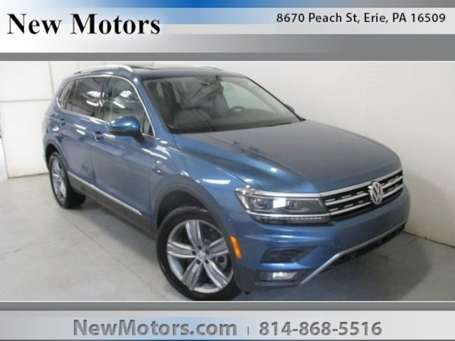 New 2019 Volkswagen Tiguan 2.0T SEL Premium 4MOTION SUV For Sale/Lease Erie, PA
