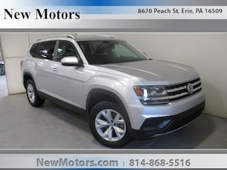 New 2019 Volkswagen Atlas 3.6L V6 S 4MOTION SUV 1V2GR2CA7KC515453 in Erie, PA