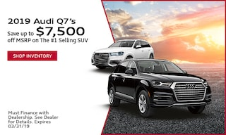 2019 Q7's save up to $7,500 off MSRP
