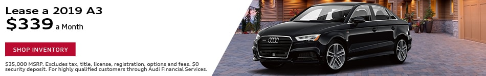 2019 A3 Lease offer