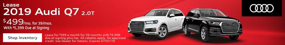 2019 Audi Q7 - June