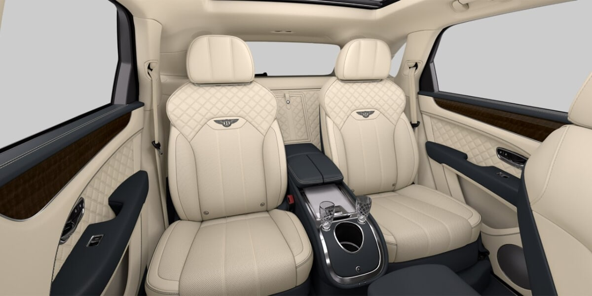 Mulliner Console Bottle Cooler in 2021 Bentley Bentayga