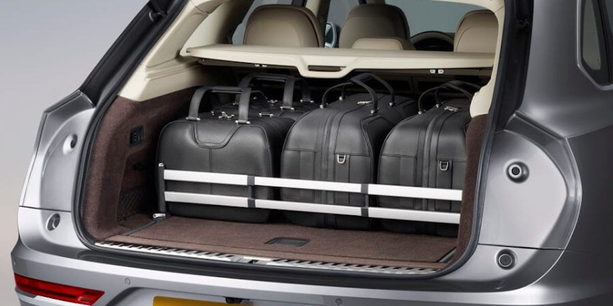 Luggage Management option in 2021 Bentley Bentyaga