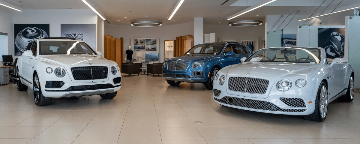 Bentley Newport Beach Showroom & Finance Department