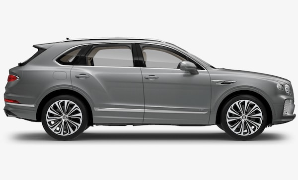 2021 Bentley Bentyga V8 side view