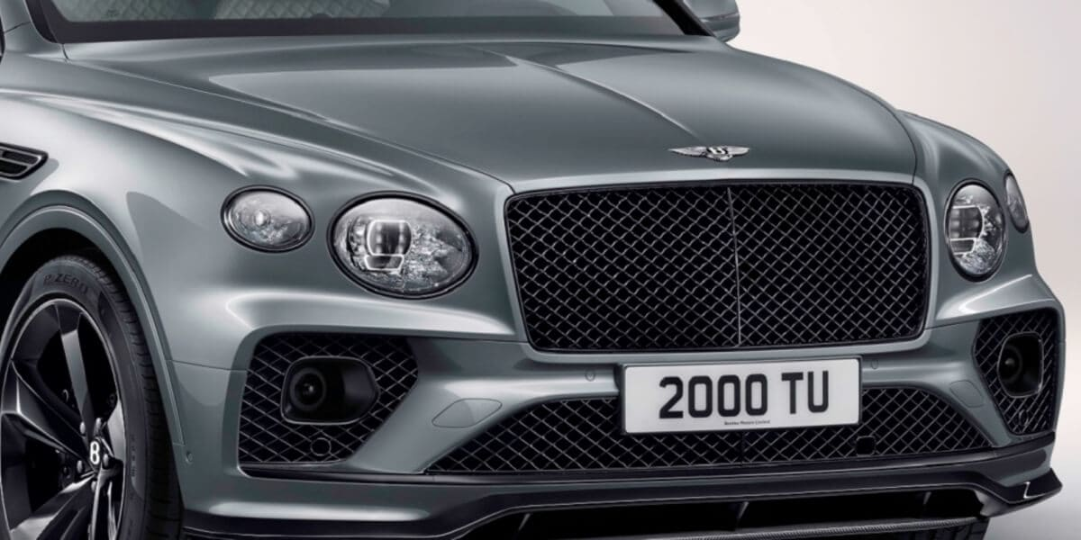 2021 Bentley Bentayga with blackline specification