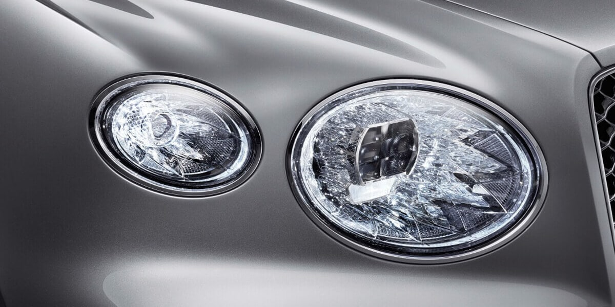 2021 Bentley Bentyaga crystal cut effect LED lights