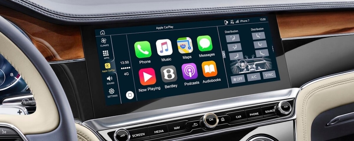 Bentley Apple CarPlay