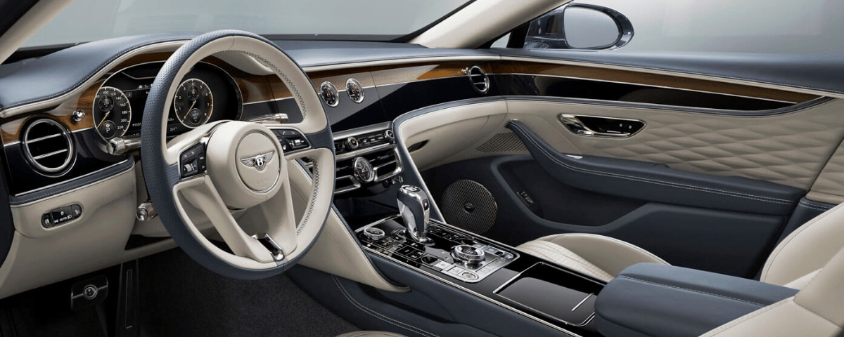 2020 Bentley Flying Spur interior view