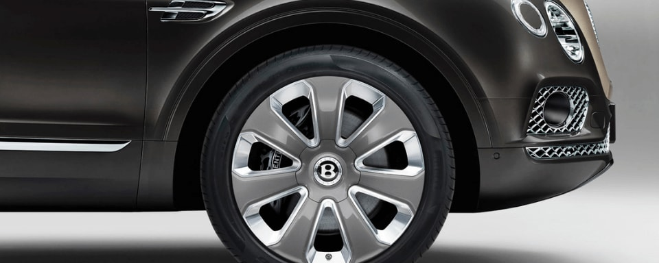 Bentley Bentayga Mulliner wheels