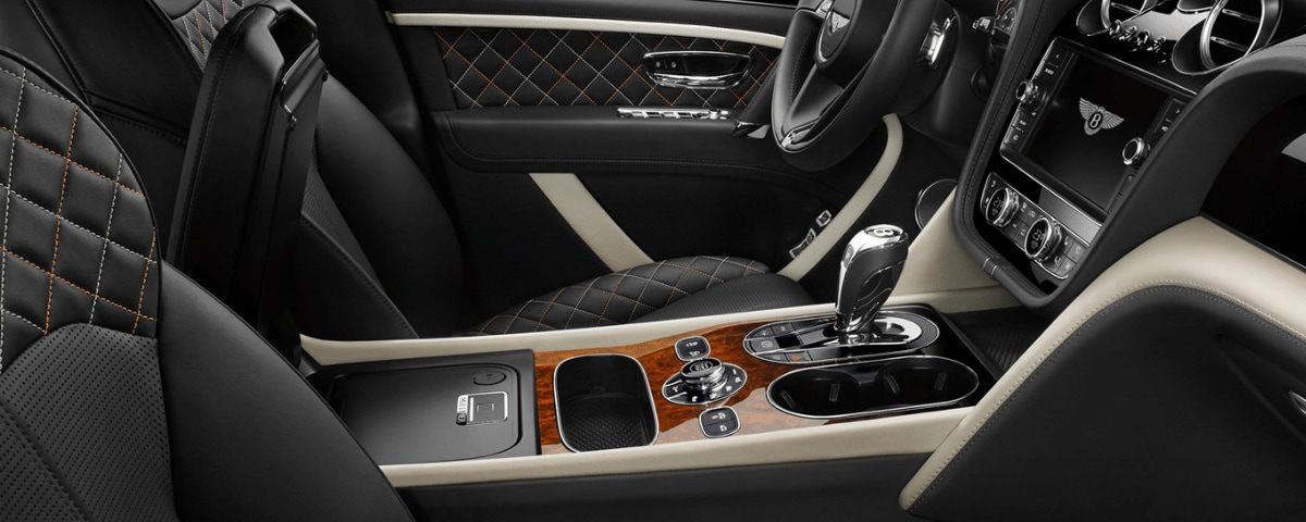 Mulliner Biometric Secure Storage in center console