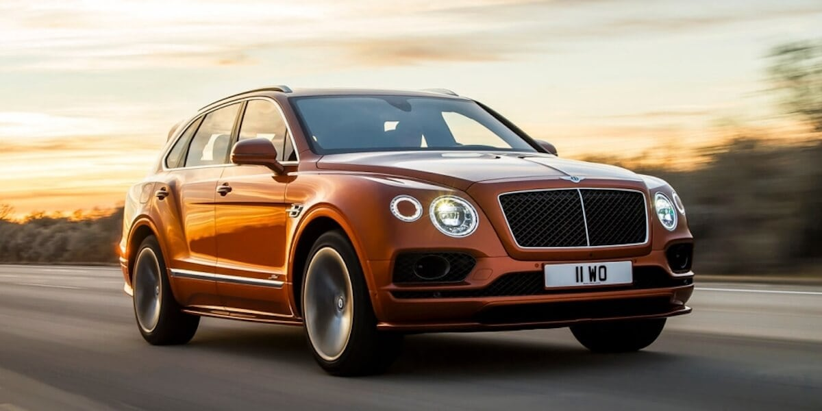 Bentley Bentayga Speed in Orange