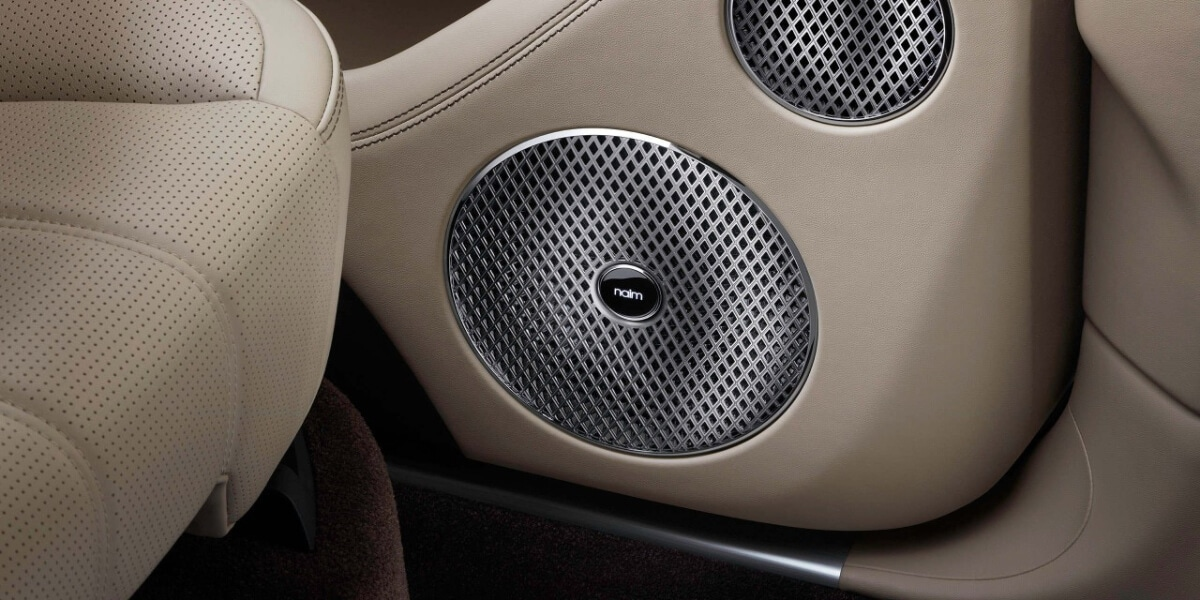 Naim for Bentley speaker in 2021 Bentley Bentayga