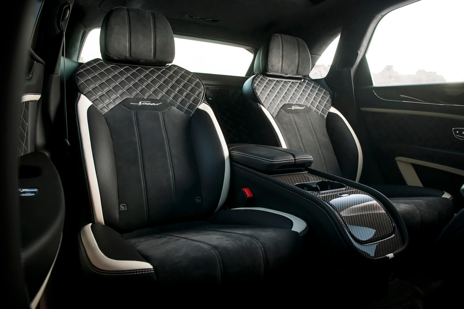 2021 Bentley Bentayga Speed rear seats