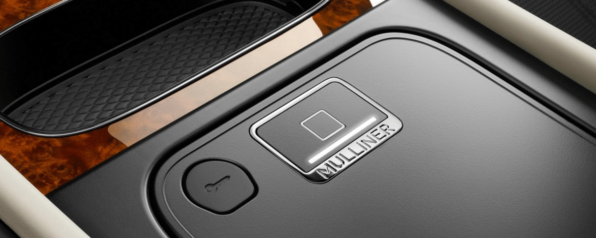 Mulliner Biometric Secure Storage fingerprint scanner