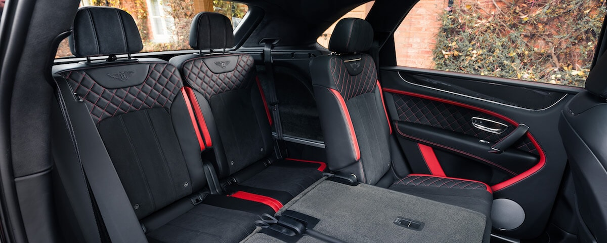 Bentley Bentayga Third-Row Seats