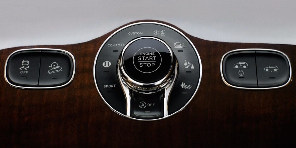 2021 Bentley Bentayga Touring Specification mode selector