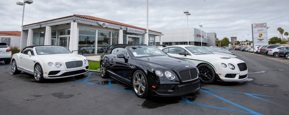 Bentley Newport Beach exterior