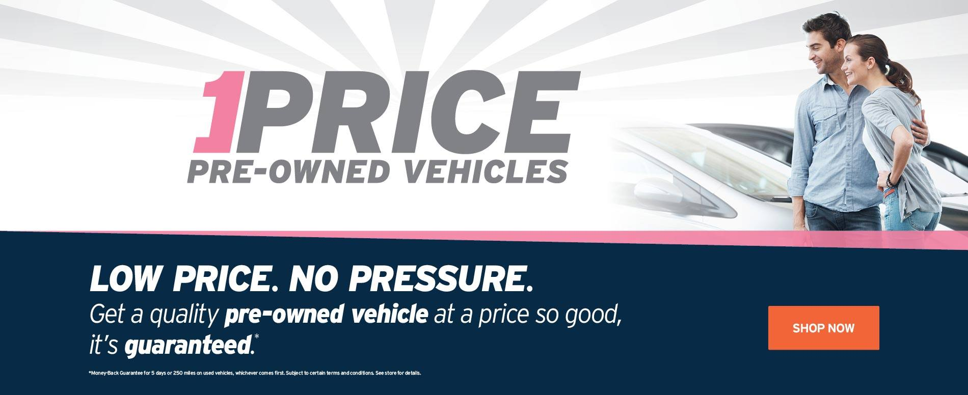 AutoNation 1Price Pre-Owned Vehicles information
