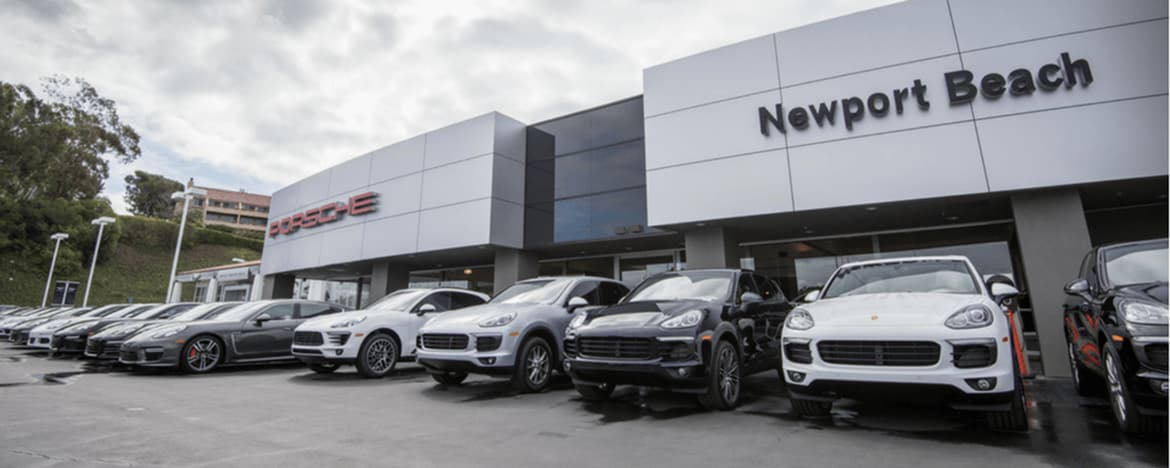 Porsche Newport Beach dealership photo