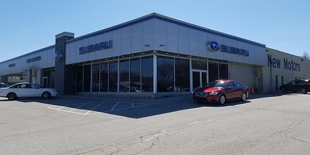 New Motors Subaru Erie Pa >> New Showroom | Construction | New Motors Subaru | Erie, PA ...
