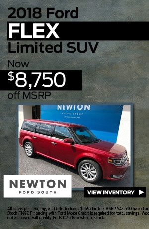 New 2018 Ford Flex | $8,750 off MSRP
