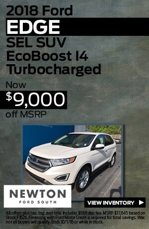 New 2018 Ford Edge SEL SUV | $9,000 off MSRP