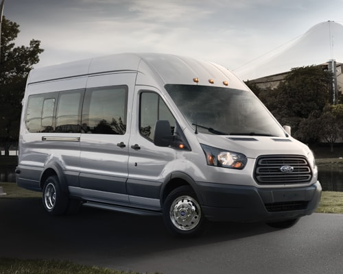 2018 Ford Transit Low Roof Passenger Wagon Vs 2017 Chevy Express Van Active Safety Features Not Available In AdvanceTrac