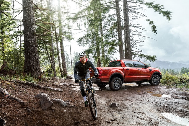 all-new Ford Ranger pickup