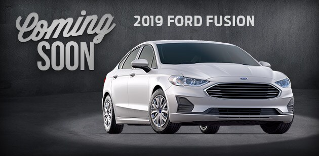 Coming Soon - 2019 Ford Fusion