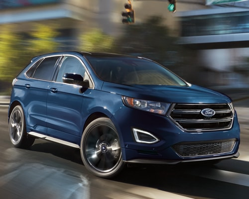 Cargo Space The  Ford Edge Features Extra Cargo Space And Interior Passenger Volume Making Room For  More Paper Grocery Bags With More Generous Leg