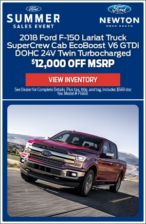 New 2018 Ford F-150 Lariat Truck - $12,000 Off