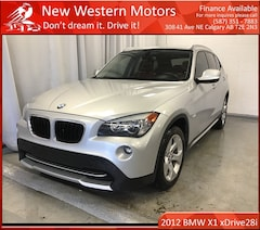 2012 BMW X1 xDrive28i/ NAV/Pano Sunroof/Heated seats/Bluetooth SUV