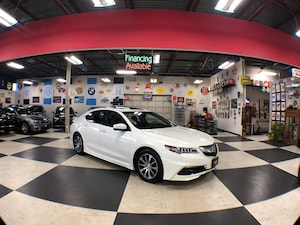 2016 Acura TLX TECH PKG AUT0 NAVI LEATHER P/START SUNROOF CAMERA