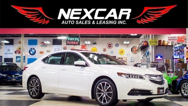 2015 Acura TLX V6 SH-AWD AUT0 LEATHER P/START SUNROOF CAMERA 103K Sedan