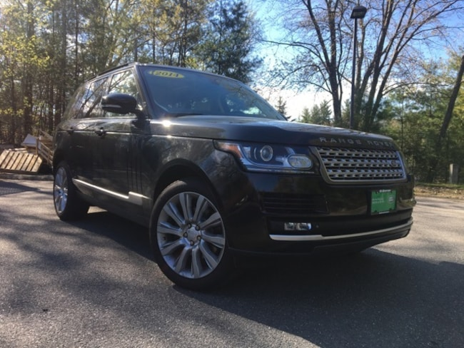 Pre-Owned 2014 Land Rover Range Rover 3.0L V6 Supercharged HSE SUV in Bedford, NH